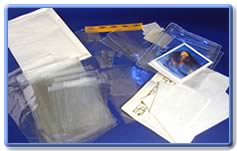 Transparent films and bags